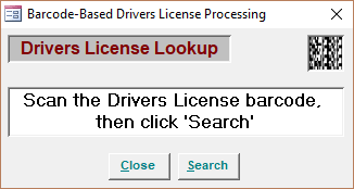 Driver's License Lookup